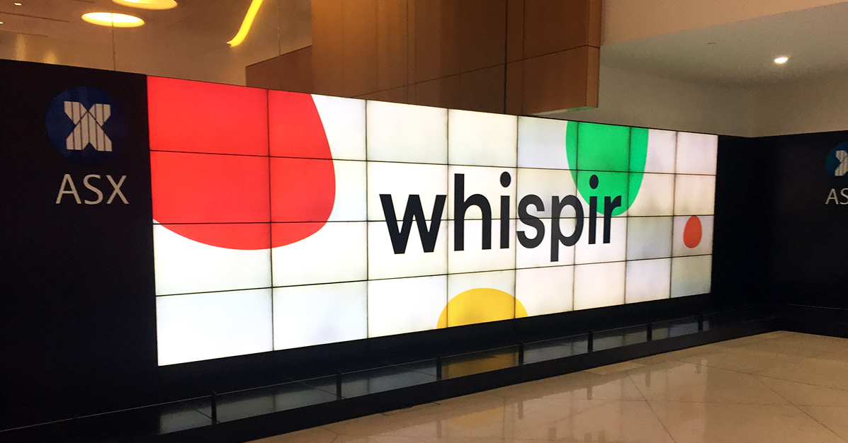 Australian SaaS company Whispir commences trading on ASX with  oversubscribed $47 million IPO