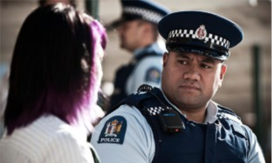 Nz Police Officer