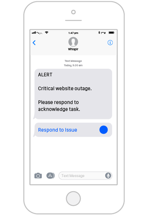 Text to Voice Messaging, Send Voice Messages & Alerts | Whispir