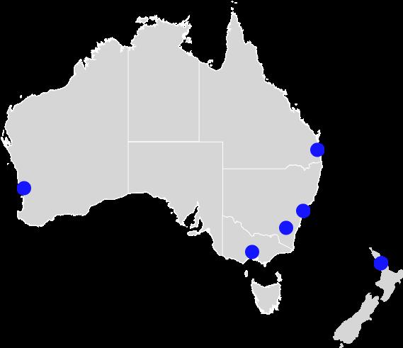 Australia and <span>New Zealand</span>