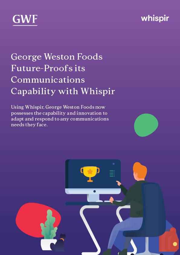 George Weston Case Study Image