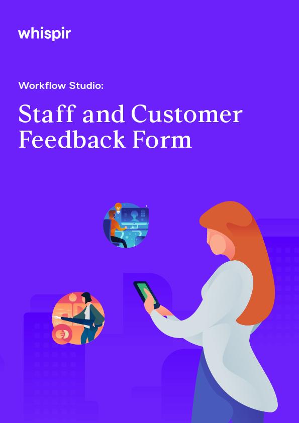 Workflows Staff and Customer Feedback Form Image